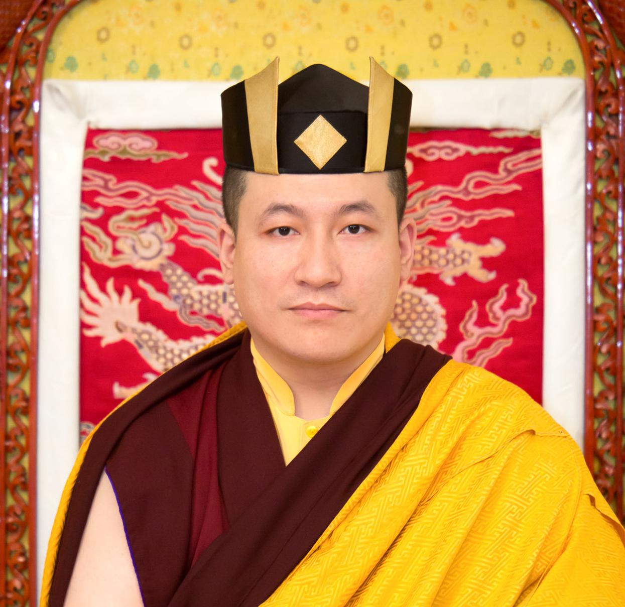 Le XVIIᵉ Karmapa Trinley Thayé Dorjé